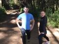 Trening w lesie Ocotal. To ścieżki po których biegali meksykańscy i polscy medaliści Igrzysk Olimpijskich.